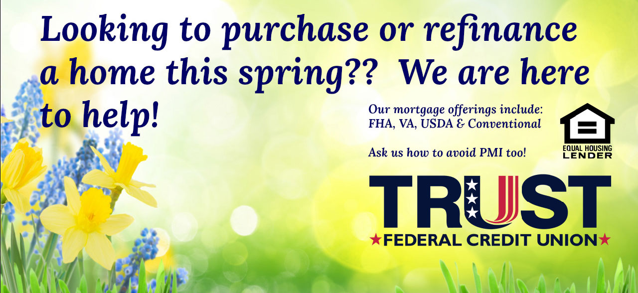 Looking to purchase or refinance a home this spring??  We are here to help!